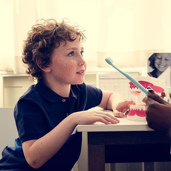 Child Listening to the Dentist - Dental Clinic Bendigo